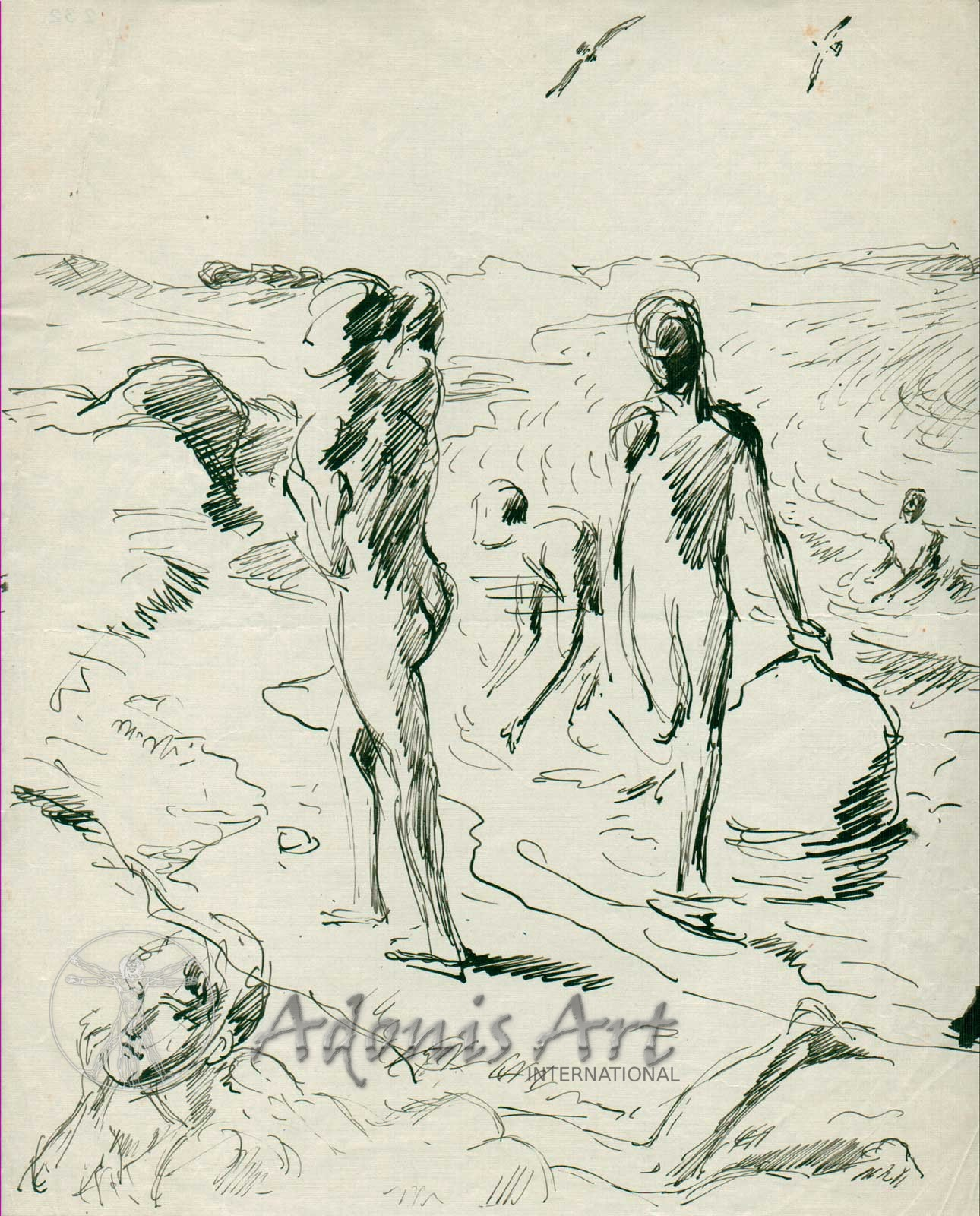 'Boys on the Beach' by Wilhelm Heinrich Focke