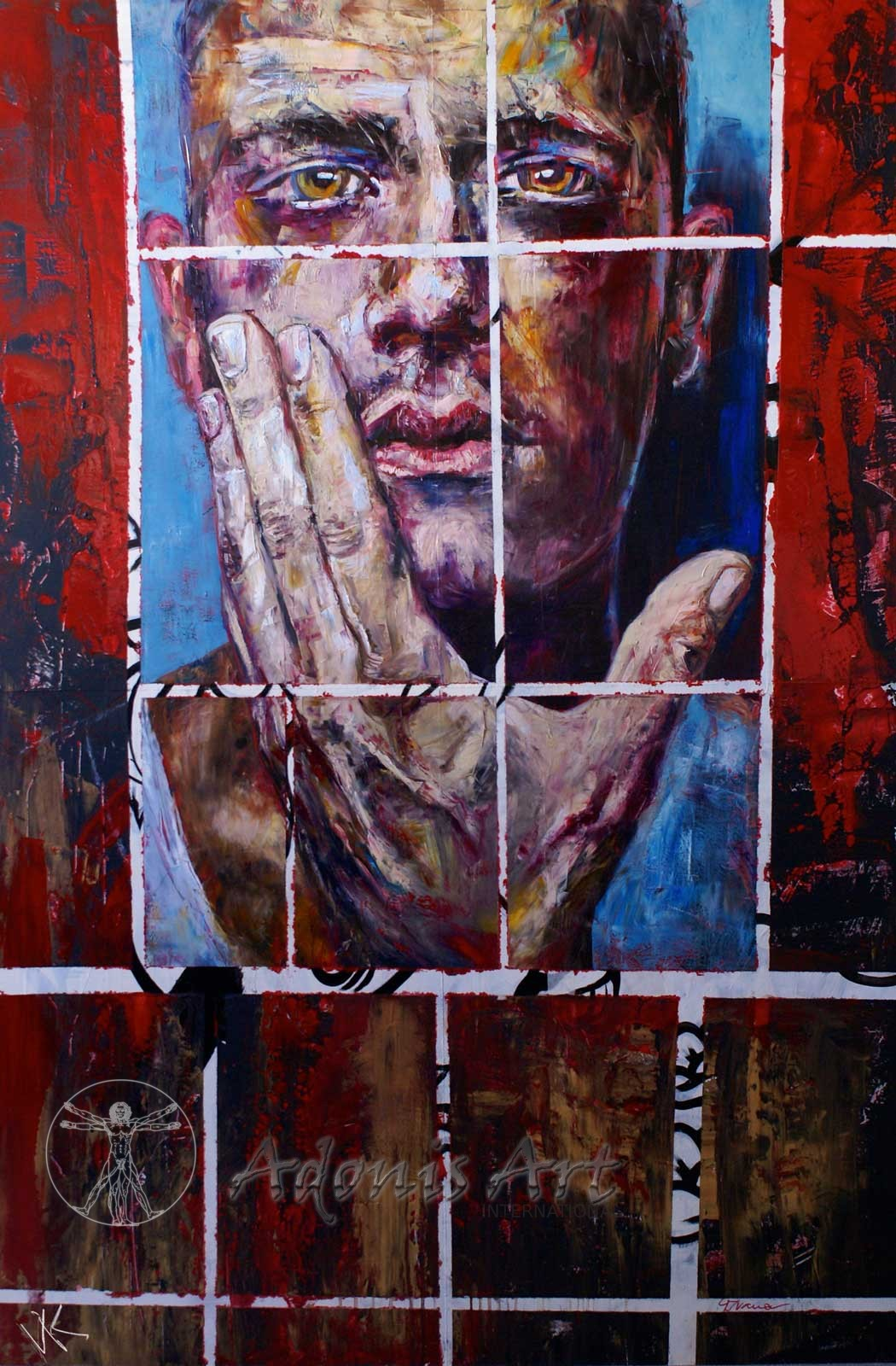 'Behind Bars' by Vik Gorbatoff
