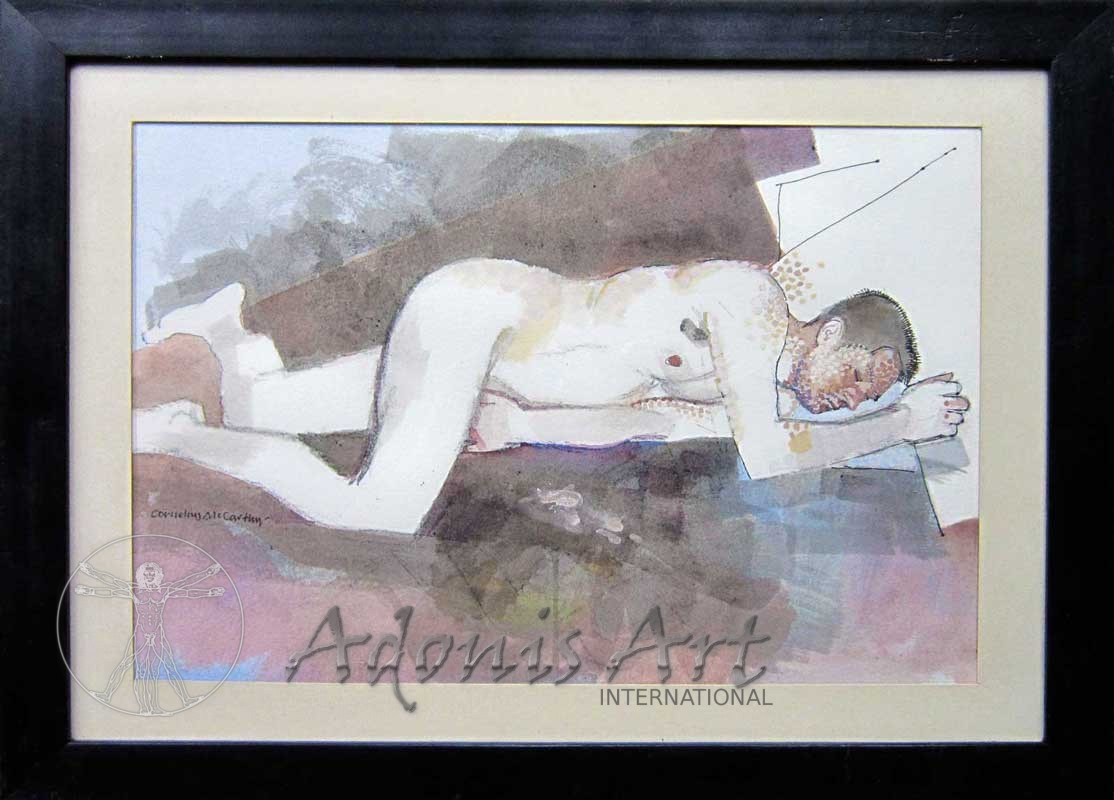 'Sleeping Nude' by Cornelius McCarthy
