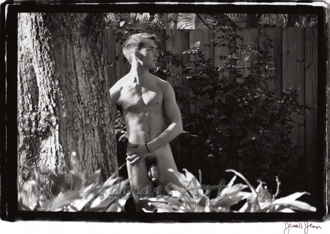 """Backyard Nude"" by Dennis Dean"
