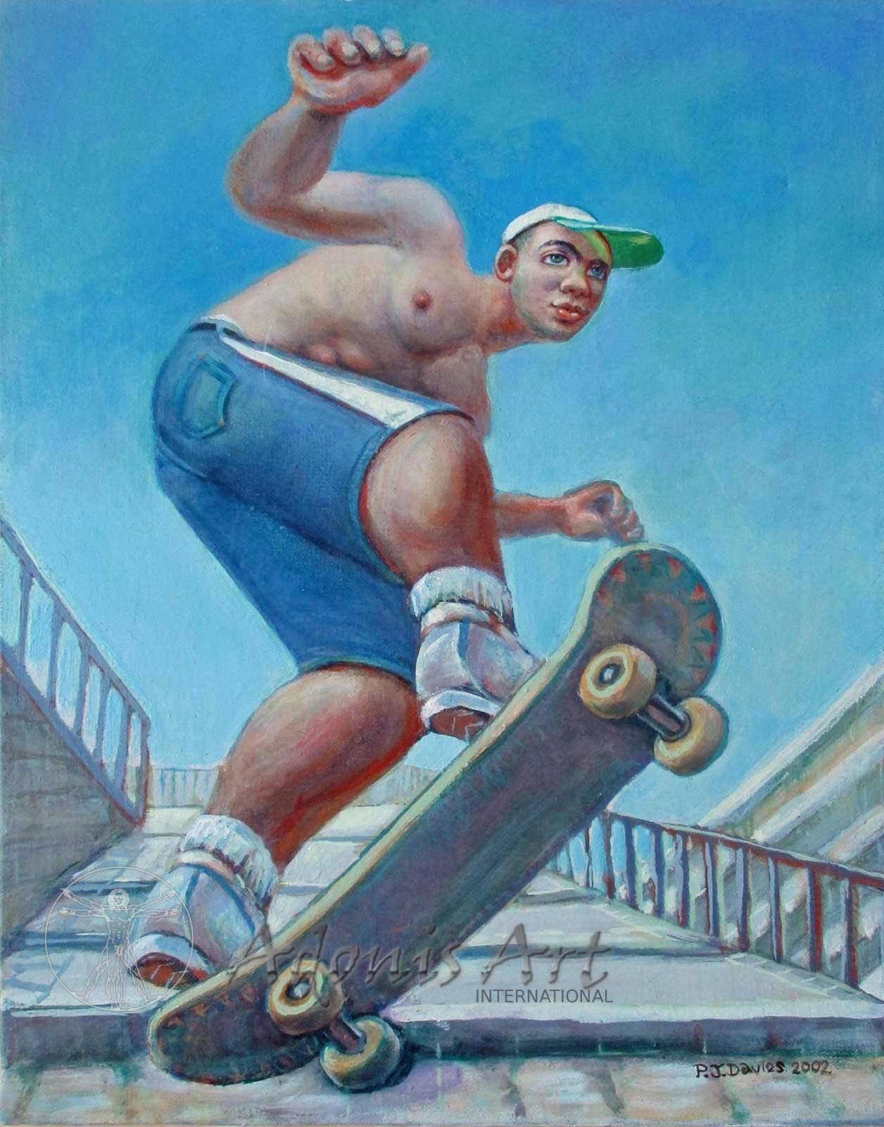 'Skateboarder' by Peter John Davies
