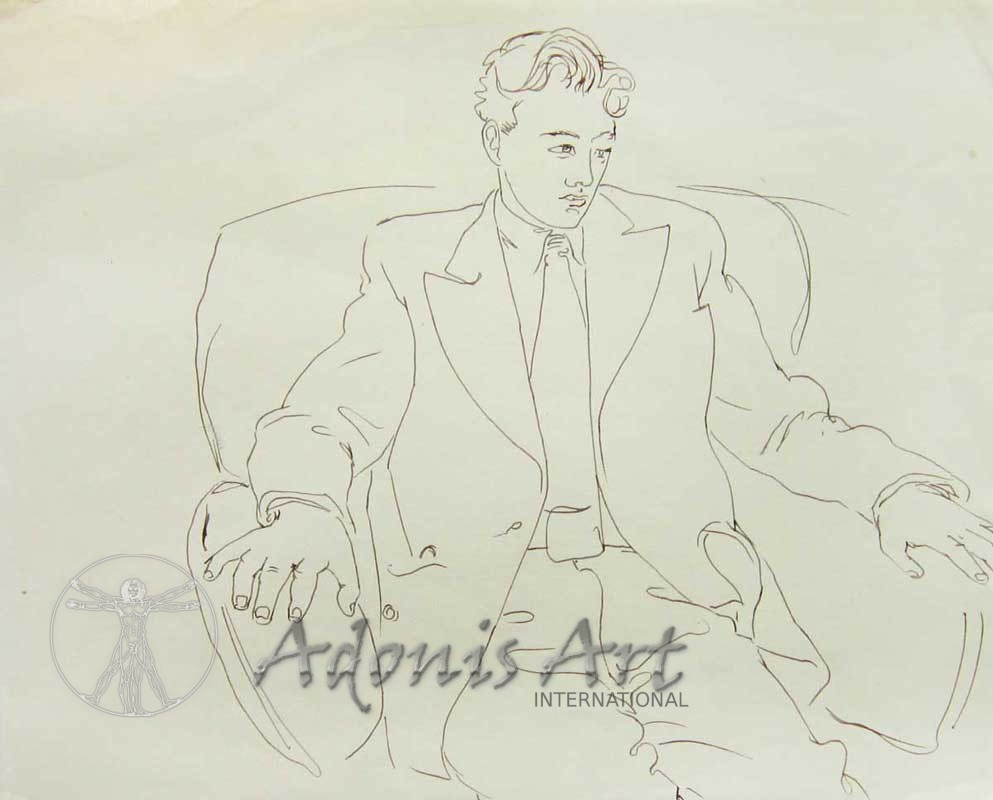 """Sitting in the Armchair"" by Peter Samuelson"
