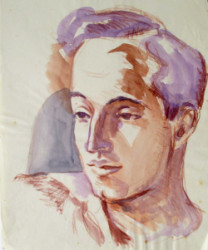 Thumbnail image: 'Unknown Young Man' by Peter Samuelson