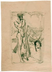 Thumbnail image: 'A Boy on the Beach' by Wilhelm Heinrich Focke