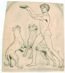 Thumbnail image: 'Water for the Dogs' by Wilhelm Heinrich Focke