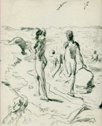 Thumbnail image: 'Boys on the Beach' by Wilhelm Heinrich Focke