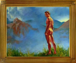 Thumbnail image: 'Mountain Figure' by Andrew Potter