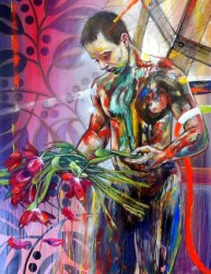 Thumbnail image: 'Bouquet of Tulips' by Vik Gorbatoff