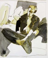 Thumbnail image: 'Bootboy with Back to his Lover' by Cornelius McCarthy