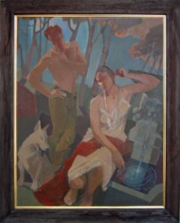 Thumbnail image: 'Diana and Actaeon' by Cornelius McCarthy