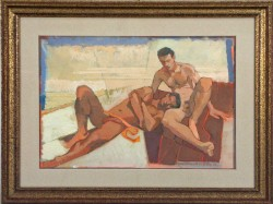 Thumbnail image: 'Golden Couple' by Cornelius McCarthy