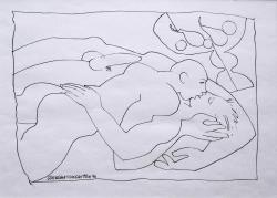 Thumbnail image: 'Loving Couple and Still Life II' by Cornelius McCarthy