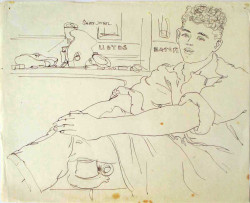 Thumbnail image: 'John the Shoemaker on a Work Break' by Peter Samuelson