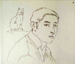 Thumbnail image: 'The Cat Lover' by Peter Samuelson