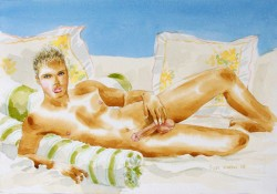 Thumbnail image: 'Blond Beauty' by Myles Antony
