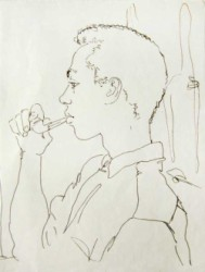 "Thumbnail image: ""Young Pipesmoker"" by Peter Samuelson"