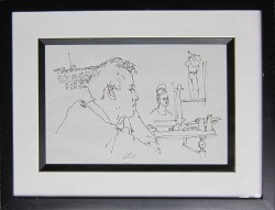 Thumbnail image: 'Tony Howard in the Studio' by Peter Samuelson