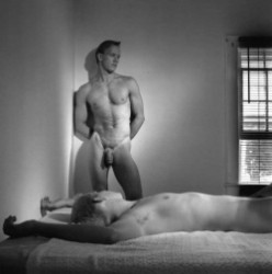 "Thumbnail image: ""Bedroom Duo 1996"" by Strom"