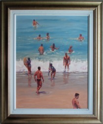 Thumbnail image: 'Summer Encounter' by Warwick Beecham